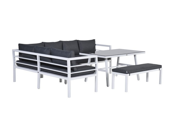 Dream Lounge Dining Set Aluminium Loungeset Von Garden Impressions