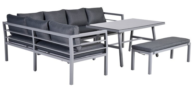 blakes lounge dining set sehen sie hier aluminium gartenm bel online. Black Bedroom Furniture Sets. Home Design Ideas