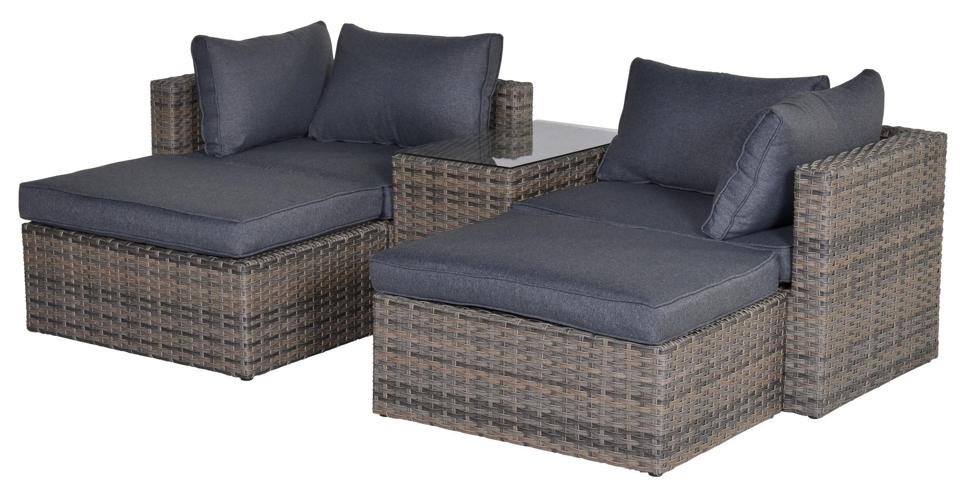 garda balkon loungeset havanna sand sehen sie alle gartenm bel hier online. Black Bedroom Furniture Sets. Home Design Ideas