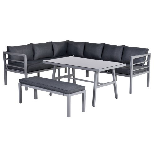 Blakes lounge dining set sehen sie hier aluminium for Gartenmobel dining set