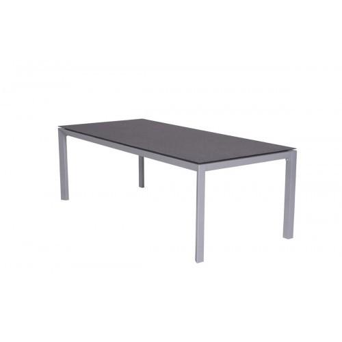 Salsa Tisch 180x100 Arctic Grey Spraystone Grey Rechteckiger